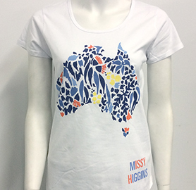Missy Higgins - Oz White Ladies Tee