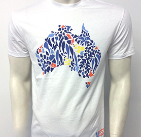 Missy Higgins - Oz White Mens Tee