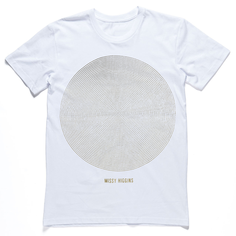 Missy Higgins - Summer Circle Tour White Tee