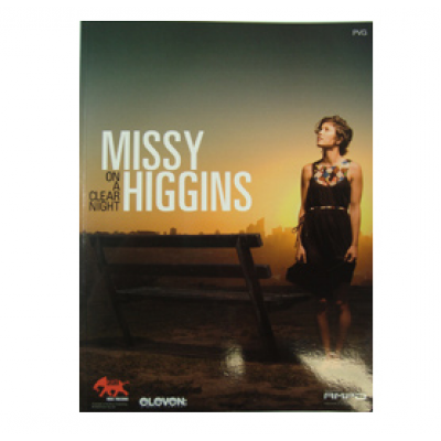 Missy Higgins - 'On A Clear Night' PVG Songbook