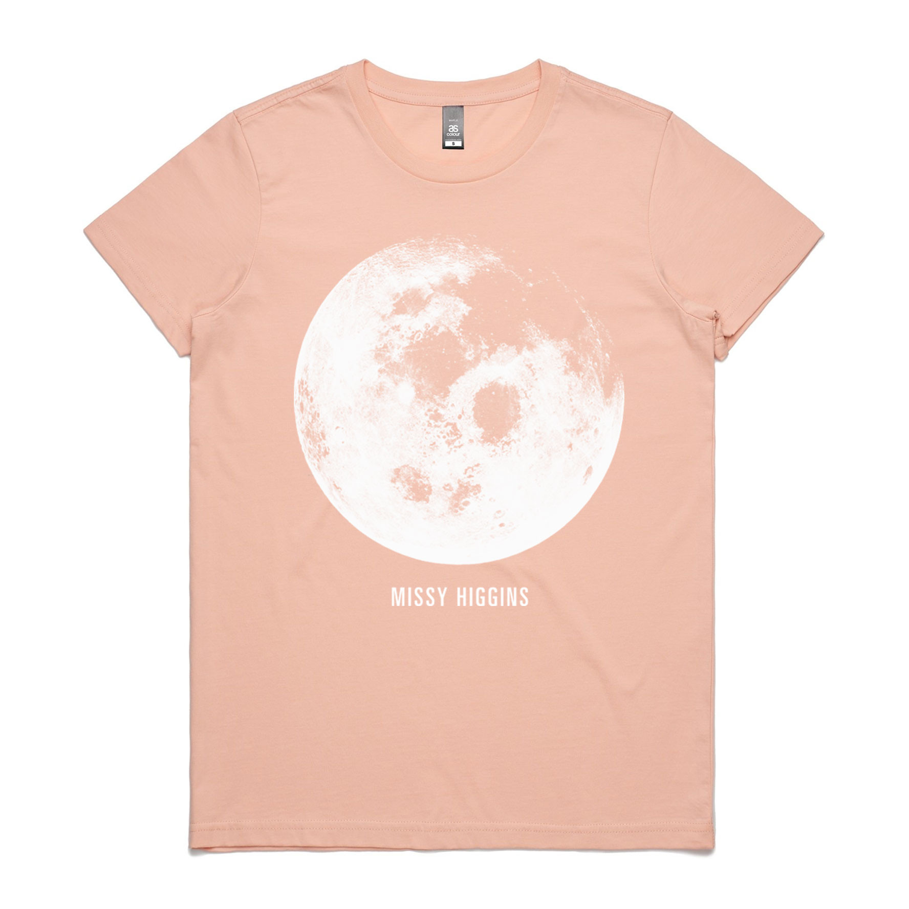Pink Moon Ladies Tee