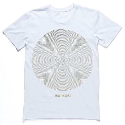 Missy Higgins - Summer Circle Tour White Tee